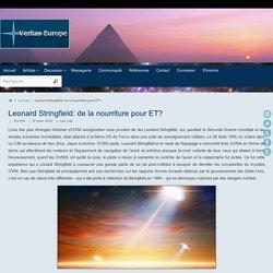 Leonard Stringfield: de la nourriture pour ET? ~ Veritas-Europe