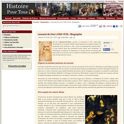 Léonard de Vinci (1452-1519) - Biographie