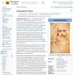 Léonard de Vinci - Wikipédia