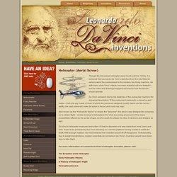Leonardo da Vinci's Aerial Screw Invention