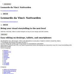 Leonardo da Vinci: Nattvarden (klicka på den interaktiva bilden)