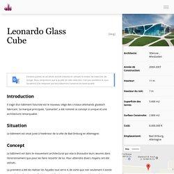 Leonardo Glass Cube - WikiArquitectura