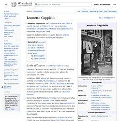 Leonetto Cappiello