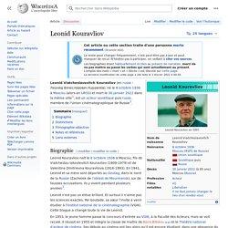 Leonid Kouravliov