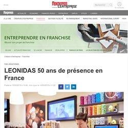 LEONIDAS 50 ans de présence en France