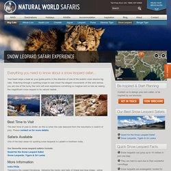 Snow Leopard Safari Holidays 2015 - Natural World Safaris
