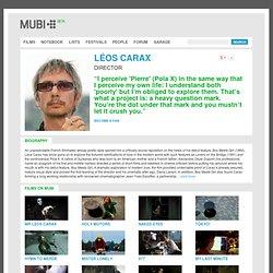 Léos Carax - Quelques oeuvres en ligne
