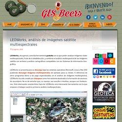LEOWorks, análisis de imágenes satélite multiespectrales - Gis&Beers