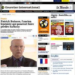 Patrick Buisson, l'ancien lepéniste qui pourrait faire perdre Sarkozy