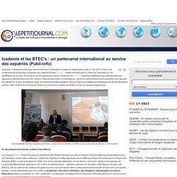 Icademie et les BTEC's : un partenariat international au service des expatriés (Publi-info)