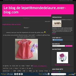 explications et tutos gratuits - Le blog de lepetitmondedelaure.over-blog.com