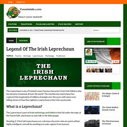 The Irish Leprechaun - Irish Folklore Stories From Ireland