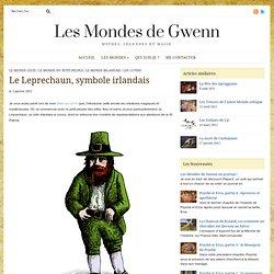 Le Leprechaun, symbole irlandais — Les Mondes de Gwenn