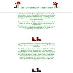 Histoire Les leprechauns et le cordonnier