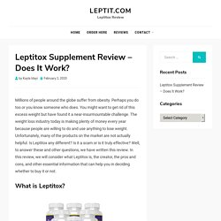 Leptitox Review - Don't Buy Leptitox Until You Read This Review
