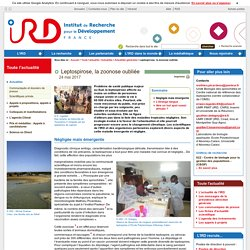 IRD 24/05/17 Leptospirose, la zoonose oubliée
