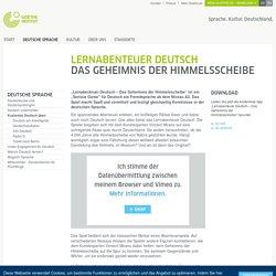 Lernabenteuer Deutsch: Das Geheimnis der Himmelsscheibe