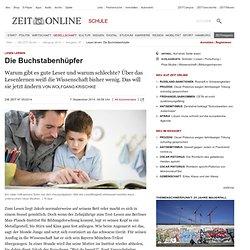 Lesen lernen: Die Buchstabenhüpfer