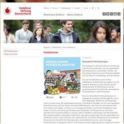 Düsseldorfer Potenzialanalyse - Vodafone Stiftung