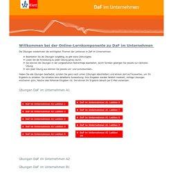 Online DaF im Unternehmen