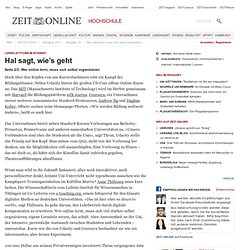 Lernplattform im Internet: Wer online lernt, muss sich selbst organisieren