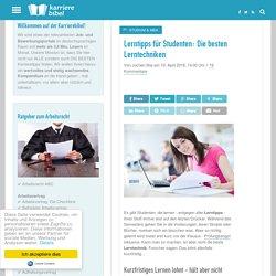 Lerntipps für Studenten: Die besten Lerntechniken
