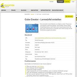 Cube Creator - Lernwürfel erstellen