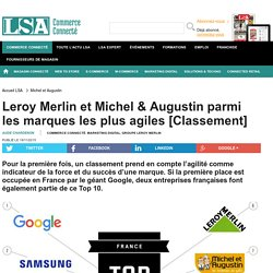 Leroy Merlin et Michel & Augustin parmi les...