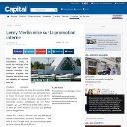 Leroy Merlin mise sur la promotion interne