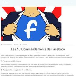 Les 10 Commandements de Facebook