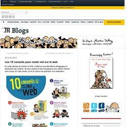 Les 10 conseils pour rester net sur le web