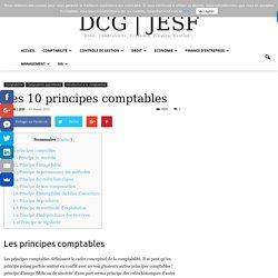 Les 10 principes comptables
