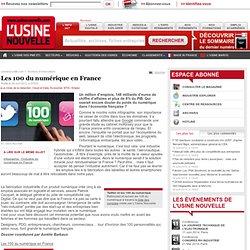 Les 100 du numérique en France
