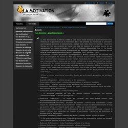 Les 101 théories de la motivation