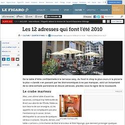 Sortir à Paris : Les 12 adresses qui font l'été 2010