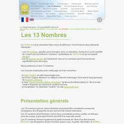 Num rologie g om trie sacr e pearltrees for Nombre 13 signification