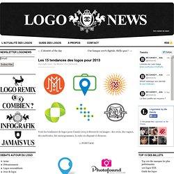 Les 15 tendances des logos pour 2013