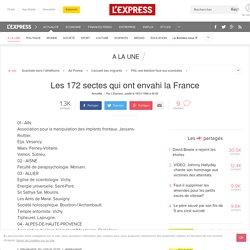 Les 172 sectes qui ont envahi la France