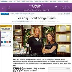 Les 20 qui font bouger Paris