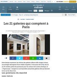 Les 21 galeries qui comptent à Paris