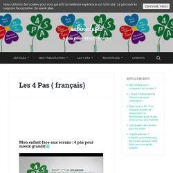 Les 4 Pas ( français) - sabineduflo