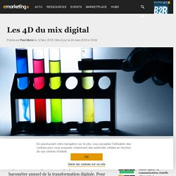 Les 4D du mix digital