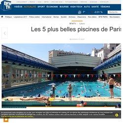 Les 5 plus belles piscines de Paris