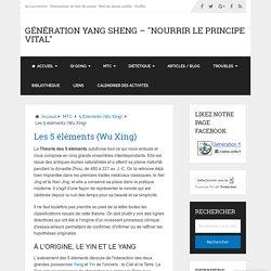 Les 5 éléments (Wu Xing)
