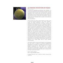 comètes et apparition vie sur terre