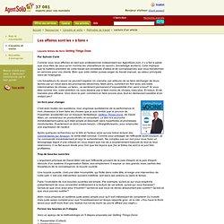 Les affaires sont les faire - AgentSolo.com