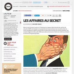 Les affaires au secret
