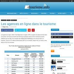 Les agences en ligne dans le tourisme