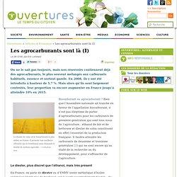 2009 - Les agrocarburants sont là