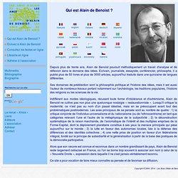 Qui est Alain de Benoist ?